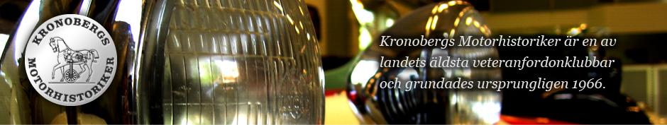 Kronobergs Motorhistoriker är en av landets äldsta veteranfordonklubbar och grundades ursprungligen 1966.